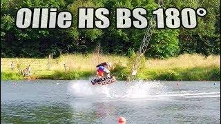 Ollie HS BS 180 Wakeboard Tutorial [ENG]