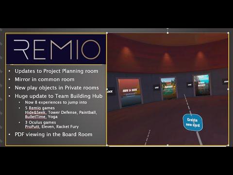Remio update
