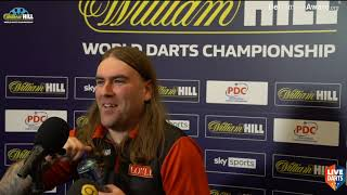 """Ryan Searle on beating Danny Lauby at Ally Pally: """"I absolutely hated that match"""""""
