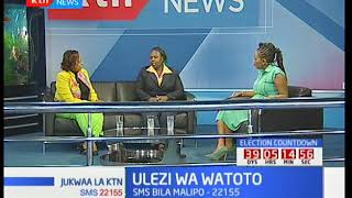 Jukwaa la KTN: Mafadhaiko kwa watoto