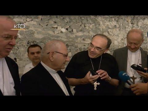 Le cardinal Barbarin entre dans Mossoul