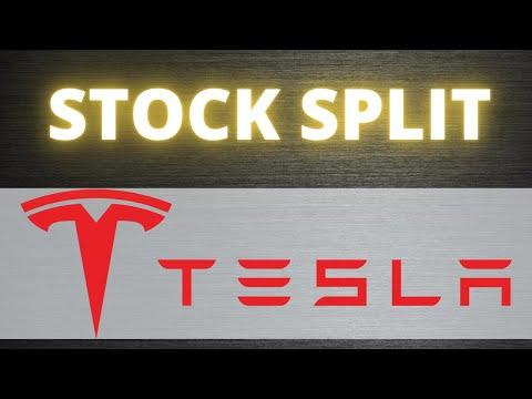 Tesla Stock Split!!! Tesla Announces 5-for-1 Stock Split.  Tesla Stock News 2020