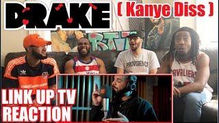 DRAKE DISSES KANYE WEST! BEHIND BARZ   LINK UP TV REACTION/REVIEW
