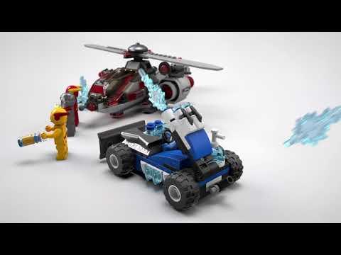 Vidéo LEGO DC Comics 76098 : Le combat de glace