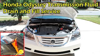 Automatic Transmission Fluid (ATF) Drain And Fill   Honda Odyssey (2007    2010