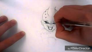 Como dibujar a Kid buu paso a paso!!