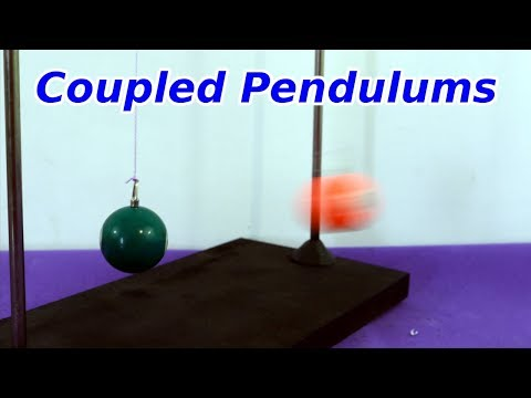 Physics Demonstrarion on Coupled Pendulums