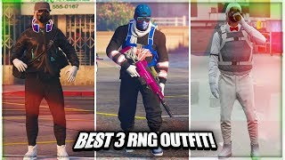 best 3 easy & simple  (gta 5 online) rng outfit! using clothing glitches 1.40 not modded outfits!