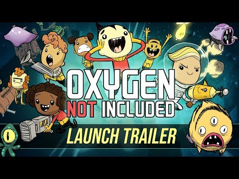 Oxygen Not Included [Official Launch Trailer] thumbnail
