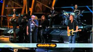 Hold On I'm Coming / Soul Man Bruce Springsteen & Sam Moore con subtítulos en español