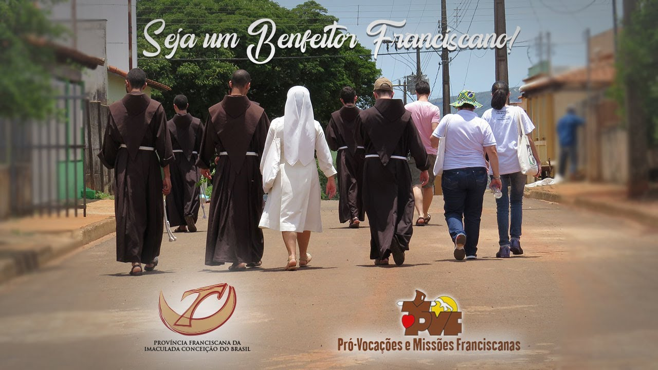 Faça parte do Pró-Vocações e Missões Franciscanas