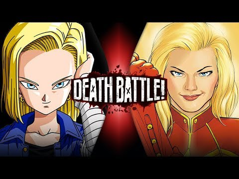 Download Android 18 VS Captain Marvel (Dragon Ball VS Marvel Comics) | DEATH BATTLE! HD Mp4 3GP Video and MP3