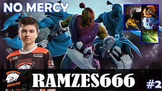 Ramzes666 - Anti-Mage Safelane | NO MERCY | vs No[o]ne (Gyrocopter) | Dota 2 Pro MMR Gameplay #2