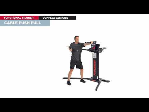 KEISER EXERCISE OF THE DAY: Cable Push Pull