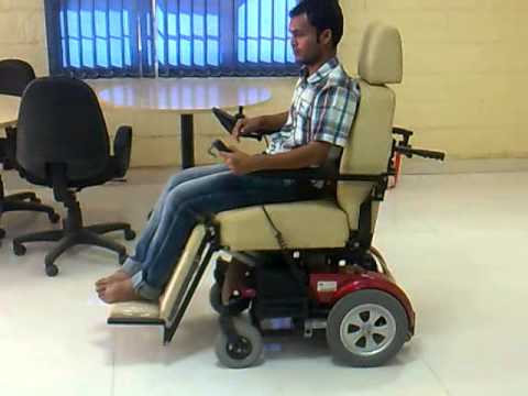 Deluxe Seat Up-Down Sliding Wheelchair