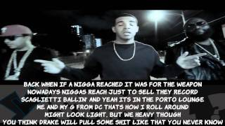 Rick Ross- Stay Schemin Official Video LYRICS ON SCREEN (Feat. Drake & French Montana) YScRoll