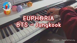 BTS Jungkook  【Euphoria Piano Cover】 Piano Sheet Music