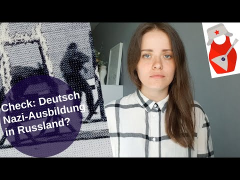 Check: Deutsche Nazi-Ausbildung in Russland? [Video]