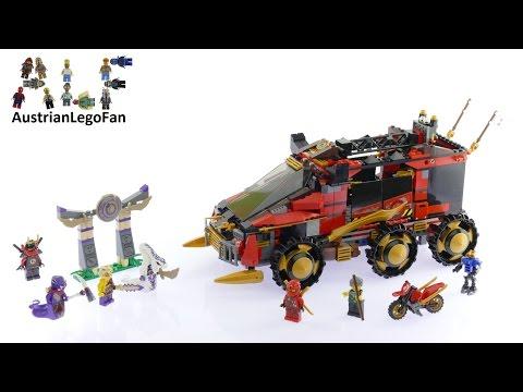 Vidéo LEGO Ninjago 70750 : La base mobile des Ninja
