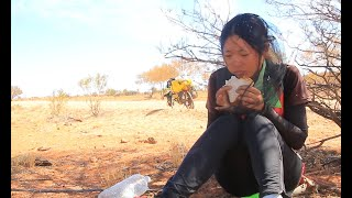 Toughest Australia Outback Cycling Dirt Road Camping