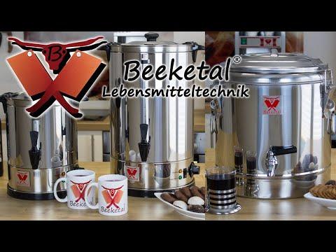 Beeketal Gastro Glühweinkocher Wasserkocher / Beeketal Thermobehälter
