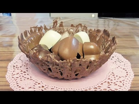 Jak zrobic czekoladowa miske  Prezent na dzien matki urodziny / Kasia ze slaska