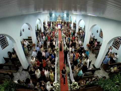 Cortejo com Violino Igreja N.Sra das Dores em Itobi-SP Trajetória do Som