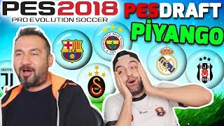 NE ÇIKARSA BAHTINA PİYANGO TAKIMLAR CHALLENGE! | PES 2018 PESDRAFT