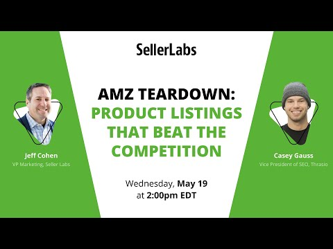 AMZ Teardown: Product Listings that Beat the Competition