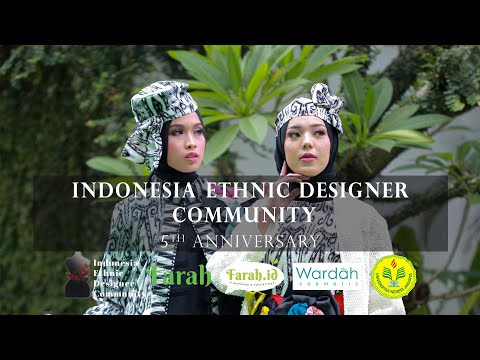 FARAH ZOOM TALK - Fashion Show Virtual Ulang Tahun ke-5 IEDC