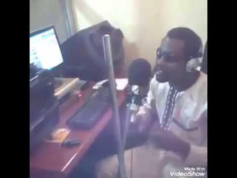 NURA M INUWA IN STUDIO SINGING NEW ALBUM DAN MAGORI