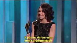 Évelyne + Tatiana aux Canadian Screen Awards 2014
