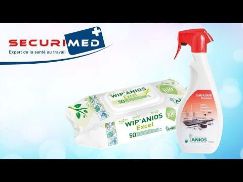 Anios SurfaSafe Premium and WipAnios Excel