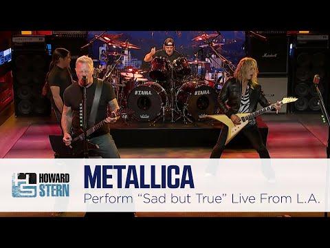 "Metallica ""Sad But True"" Live on the Stern Show"