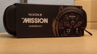 Unboxing Nixon smart watch (THE MISSION)