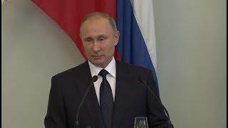 Путин успокоил финнов и пригласил всех на морской парад в Петербурге
