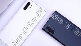 So Sánh Note 10 Plus 5G Và Note 10 Plus Chính Hãng Khác Nhau Chỗ Nào?
