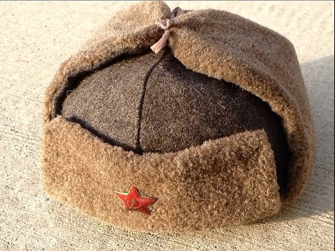 WW2 Type Ushanka from Soviet Power Review !!! (Bulgarian Model) шапка ушанка ркка