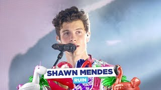 Shawn Mendes - 'Ruin' (live at Capital's Summertime Ball 2018) - dooclip.me