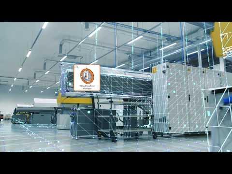 Digitaler Shopfloor mit dem TDM Shopfloor Manager Global Line
