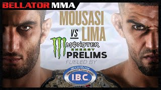 Bellator 250 Mousasi vs. Lima I Monster Energy Prelims fueled by I.B.C