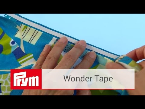 Das Prym Wonder Tape   Doppelseitiges Klebeband zum Nähen