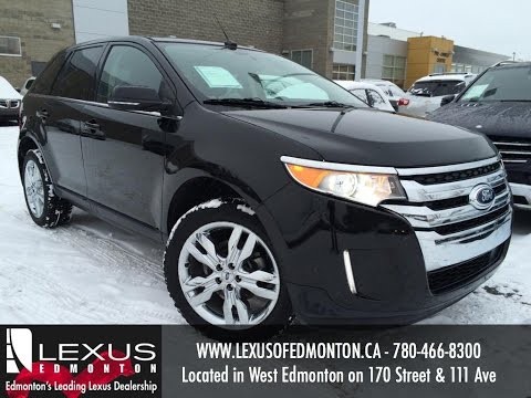 Used Black  Ford Edge Limited Awd Review Penhold Alberta