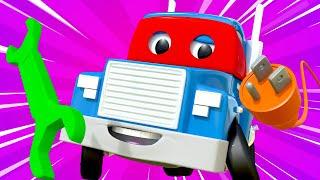 Videa s náklaďáky pro děti - Supernáklaďák opravář - Supernáklaďák ve Městě Aut