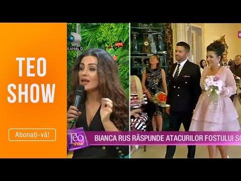 Teo Show - Bianca Rus, declaratii SOC despre fostul sot