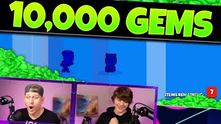 10,000 Gems in Mega Boxes for my Son |  Father And Son Gemming in Brawl Stars