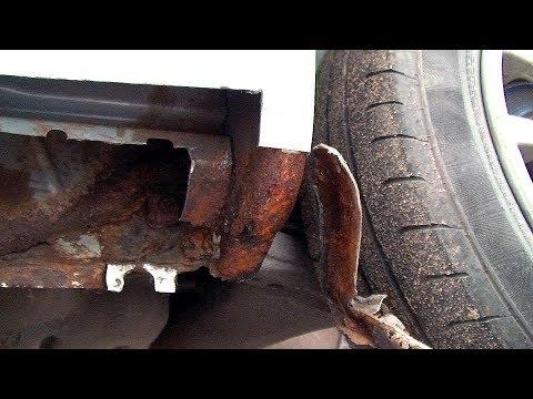 Ремонт гнилых порогов. Toyota Yaris #1