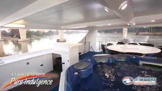 preview picture of video 'Pure Indulgence Houseboat - All Seasons Houseboats Mildura'