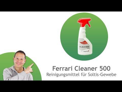 Ferrari Cleaner 500 - Reinigungsmittel für Soltis-Gewebe