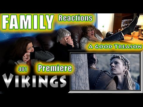 VIKINGS | 401 | A Good Treason | FAMILY Reactions | Fair Use